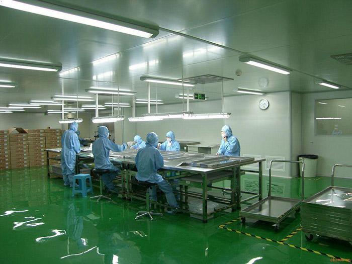 日化行业无尘洁净室工程解决方案